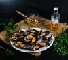 """Mejillones gallegos en vinagreta (Frabisa) Tags: galicia mejillones vinagreta """"musselsvinaigrette"""""""