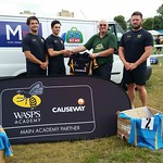 Wasps Support SOS Kit Aid!
