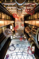 Dresses and Elevators (sintualex) Tags: cruise 50mm artistic decoration dresses cruiseship royalcaribbean elevators decor hdr leadinglines photomatix allureoftheseas sel35f18 sonya6000
