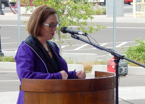Governor Kate Brown by OregonDOT, on Flickr