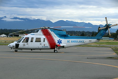 C-GCHJ (wiltshirespotter) Tags: vancouver helijet sikorsky s76c cyvr