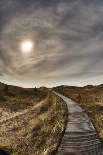 Dünensteg, Wolkenwirbel