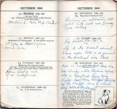 Week 42 October 12th - 18th 1941 (richardmlevett) Tags: hurricane jerry malta b17 naples sicily blenheim convoy beaufort 1941 raf wimpy iti sliema valletta valetta airraid whitley luqa hmsnaiad wardiary takali siegeofmalta