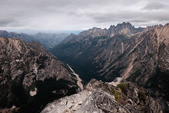 The Rugged North Cascades N.P. (adam.paashaus) Tags: winter cliff mountain rock landscape early washington bell outdoor hill n peak spire formation ridge route climbing cascades fred mountainside bluff crag arete libert beckey canyo