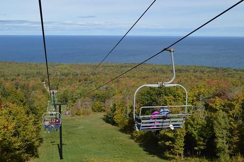 Fall Color Chair Lift Rides (October 3, 2015) U2013 Porcupine Mountain Ski Area  U2013 Photo Gallery U2013 (Click On Photos For Captions U0026 Slideshow View)