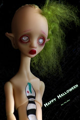 Juice says Happy Halloween (Vali.Tox.Doll) Tags: doll circus bjd kane nefer nexeven