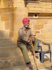 "Fort de Jaisalmer <a style=""margin-left:10px; font-size:0.8em;"" href=""http://www.flickr.com/photos/127723101@N04/22203572389/"" target=""_blank"">@flickr</a>"