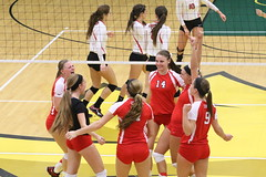 Volleyball Oneonta vs Cortland at Brockport 11/6/15 (BrockportAthletics) Tags: tournament volleyball vs oneonta cortland brockport 11615