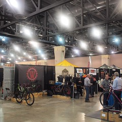 Well that's a wrap! Thanks to everyone that came out and thank you to @phillybikeexpo for another awesome year. #phillybikeexpo #2015PBE #weavercycleworks #custombicycles