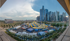 The Circus in the City (Bryan.Chihan) Tags: panorama landscape soleil landscapes travels singapore cityscape circus sony du cirque marinabay sel1635z a7rii
