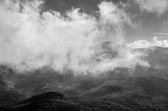 Bistra (Gadjowsky) Tags: sky blackandwhite mountain black mountains nature monochrome clouds landscape blackwhite nikon noir noiretblanc hiking exploring explore macedonia landschaft schwarz cloudporn bistra mavrovo nikond5100