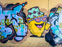 { happy cannibal lemon } (Web-Betty) Tags: streetart toronto ontario canada art graffiti lemon graffitialley