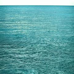 reincarnation (iyad LA) Tags: blue sea abstract green film square mediterranean wave ps minimalism hindu reincarnation instagram