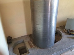 RMH0059 (velacreations) Tags: rmh woodburningstove rocketmassheater
