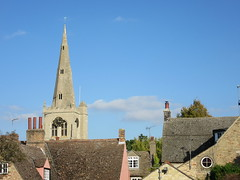 Photo of Spire of St Mary the Virgin Church, Godmanchester, Cambridgeshire