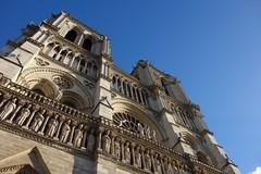 Notre-Dame de Paris (Sean Munson) Tags: paris france church europe cathedral gothic unescoworldheritagesite worldheritagesite notredame notredamedeparis notredamecathedral frenchgothic banksoftheseine iledefrance iledelacite