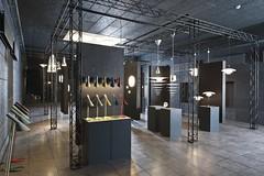 Retail Display For Louis Poulsen