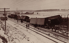 Railroad Wreck at Rio, 1-29-1913