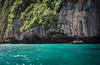 Thailand - Ko Phi Phi Leh (Cyrielle Beaubois) Tags: travel water thailand island asia paradise phi turquoise south thaïlande cliffs wanderlust ko ley southeast leh 2015 canonef70200mmf40lusm canoneos5dmarkii cyriellebeaubois