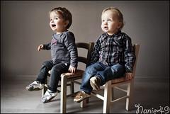 Les Jumeaux, 13 mois. (nanie49) Tags: france enfant enfance child kid childhood bambino infanzia nio infancia kindheit  nikon d750 portrait retrato nanie49