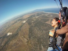 "Skydiving in Cape Town... ca. 3000 meters (9000 ft) over sea level and 200kms/h speed. Nov 2014. South Africa #itravelanddance • <a style=""font-size:0.8em;"" href=""http://www.flickr.com/photos/147943715@N05/29531262253/"" target=""_blank"">View on Flickr</a>"