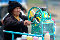 Shaved Ice, Otavalo Market, Ecuador (alextsui86) Tags: ecuador otavalo market shaved ice