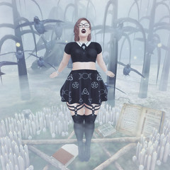 {Blog 91} Mind Craft (veronica gearz) Tags: avi avatar alex blog blogger blogging bloggers blogs maitreya mesh secondlife second sl truth reign ersch izzies cae fashiowl kalopsia rekt nightmare meshnation bazar luanesworld epiphany on9 summons pentagram halloween