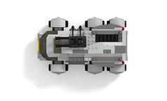 Star Citizen Ursa Rover top profile (turbokiwi) Tags: lego starcitizen ursa rover vehicle truck buggy transport