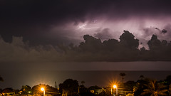 Soire Electrique - Basse-Terre - [Guadeloupe] (Thierry CHARDES) Tags: sigma1750mmf28 france antilles carabes caribbean basseterre orage clairs