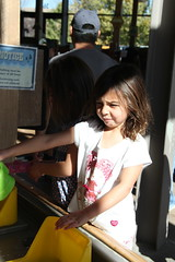Jovie playing with water 3 (Aggiewelshes) Tags: october 2016 lehi utah travel museumofnaturalcuriosity thanksgivingpoint waterworks jovie