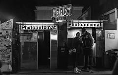 Photoautomat (Talha_Ertan) Tags: monochrome blackwhite photoboth fotoautomat berlin friedrichshain warschauerstr fuji x100 x100s x100t streetphotography