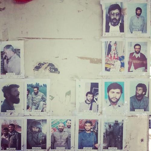 Portraits of martyrs سرداران شهید #بهشت_زهرا