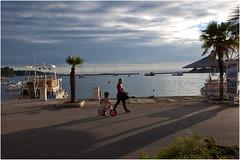 0285-ATARDECER EN EL PUERTO DE POREC (Croacia) (-MARCO POLO--) Tags: ciudades rincones mares costas nubes cielos atardeceres