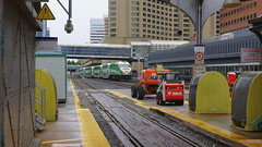 072crpshsat (citatus) Tags: westbound go train leaving departing union station toronto canada fall afternoon 2016 pentax k3 ii