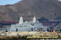 USS San Diego (LPD 22) (Narwal) Tags: golden gate bridge  sfo sanfrancisco california ca us usa    marina district fleet week sf 2016  uss san diego lpd 22 parade ships