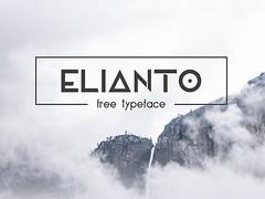 Elianto Free Typeface (stevenhan2005) Tags: font freefont geometric otf sanserif ttf typeface typography