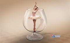 Atelier2 - A Delicadeza (Carlos Atelier2) Tags: atelier2 carlos tarsa vinho mulher photoshop cor pastel cristal manipulao imagem bal