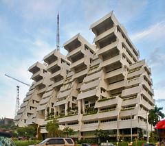 Wisma Intiland (BxHxTxCx (using album)) Tags: surabaya building gedung architecture arsitektur office kantor