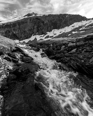 """(don't)... Go with the flow (Ronny rbekk - http://arcticphotography.no) Tags: specland flickrsbest monochrome monochrom blackandwhite whiteandblack bw sorthvit sh arctic norge nordnorge norway northernnorway norwegen troms harstad kvfjord winter longexposure langexponering visipix"