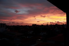 Sunset (1) (Caroline C. Ribeiro) Tags: sunset canon