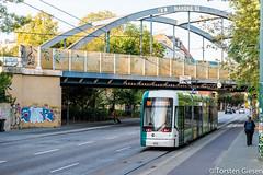 Potsdam-Charlottenhof_Potsdam433_als_Linie94_19092016_Nachschuss (giesen.torsten) Tags: nikon nikond810 potsdam potsdamcharlottenhof strasenbahn tramway