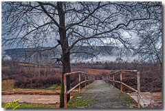 Rusty bridge ... HDR (Emil9497 Photography & Art) Tags: nikond90 d90 drama greece paliampela emilathanasiou emil9497photographyart oldbridge bridge vista hellas northgreece