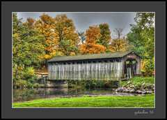 Fallasburg Covered Bridge (the Gallopping Geezer '4' million + views....) Tags: coveredbridge bridge historic old preserved restored fallasburgcoveredbridge fallasburg mi michigan rural country village historicvillage westernmichigan canon 5d3 sigma24105 geezer 2016