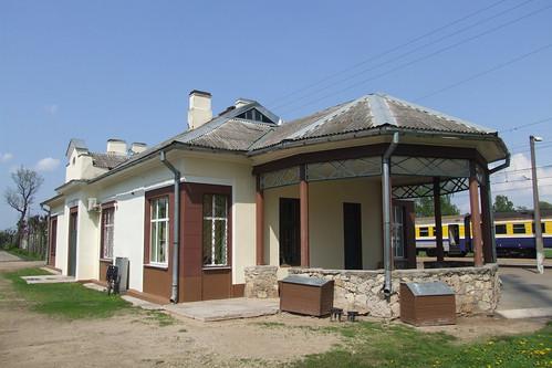 Lielvārdes dzelzceļa stacija, 19.05.2013.