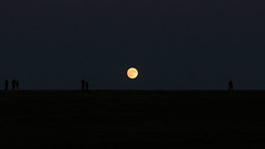 Supermoon on the Horizon (blazer8696) Tags: night clear 2016 beaver brookfield brookfieldcenter ct connecticut ecw frost happy landings moon super supermoon t2016 usa unitedstates full perigee rise img4829