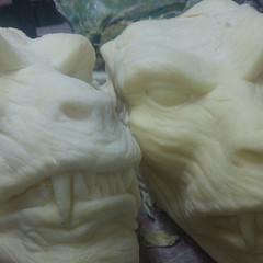 Works fine / Wszystko gra (variouseffects) Tags: wilkołak warewolf głowa maska cosplay rzeźba mold cast props vfx variouseffects