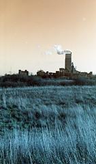 Keep on Burning (5) (Mrs.Black&White) Tags: praktica ltl3 carlzeiss jena 50mmf28 lomography lomochrometurquoise handprocessed tetenal c41process dunbar eastlothian scotland