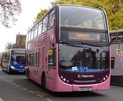 Cambridge (Andrew Stopford) Tags: mx07hnf adl enviro400 stagecoach cambridge citi