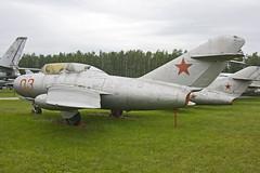 MiG-15UTI at Monino (atg3v) Tags: centralmuseumoftheairforces monino moscow preserved mig15 mig15uti fagot mikoyan mikoyangurevich russia russiaaf russiaairforce soviet sovietunion sovietaf sovietairforce   c fighter ussr