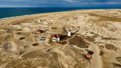 Race Point Lighthouse & Whistle House (Chris Seufert) Tags: capecod provincetown nationalseashore whistlehouse racepoint lighthouse dunes beacon ocean